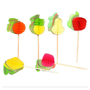 Fruit Cocktail Picks, Party picks, Bakery Supplies, 10Pcs/Pack