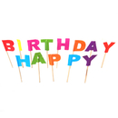 Happy Birthday Cupcake & Cake Topper Picks, Birthday Party picks, 13Pcs/Pack