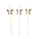 Crystal Butterfly Cocktail Picks, Cupcake & Cake Topper Picks, Party Favor, 10Pcs/Pack