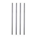 Aspire Stainless Steel Drinking Staws, Cocktail Drink Markers, 8.5