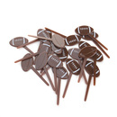 Football Cupcake Topper Toothpicks, Cocktail Picks, Party Supplies, 20Pcs/Pack