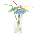 Cocktail Party Umbrella Drink Straws, 20Pcs/Pack