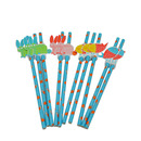 Animal Paper Drinking Straws, Party Supplies, 8