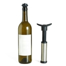 Blank Wine Saver Pump Preserver with 2 Vacuum Bottle Stoppers, Reusable Bottle Stopper, To Save your Wine Fresh, 5.9