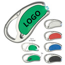 Customized Carabiner LED Flashlight with Ball Pen