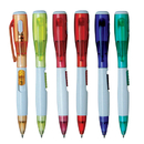 Blank Multi-functional ball point pen with flashlight, 5