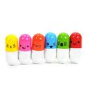 Blank Pill Capsule Novelty Ballpoint Pen, 2-1/4