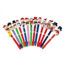 Custom Christmas Handcraft Snowman Ballpoint Pen, 6.5