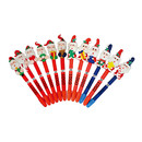 Custom Novetly Christmas Santa Claus Ballpoint Pen, 6.5