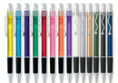 Blank Squiggle Clip Pen