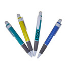 Custom Plastic Click Pen with White Grip