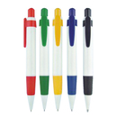 Blank Plastic Push Action Ballpoint Pen