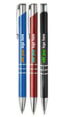 Custom Athena Ball Point Pen - Two color imprint