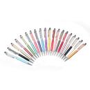Blank Tiffany Crystal Plastic Ballpoint Pen