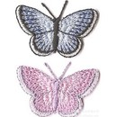 Premium Embroidered Butterfly Appliques, 1.5