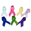Awareness Ribbons with Safety Pin - Various Colors