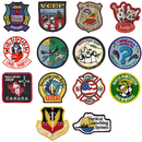 Custom Embroidered Patches (100%), Up to 3