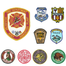 Custom Woven Patches, Up to 5