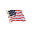 American Flag Enamel Lapel Pin, 25PCS/Pack, 1