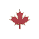 (Price/25 PCS)Opromo Red Maple Leaf Pin, 25PCS/Pack, 1-1/4