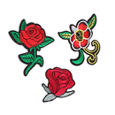 Alice DIY Rose Flower Applique Embroidered Sew Iron on Patch Embroidery Patches