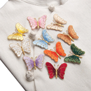 Alice Iron on Patches Mini Butterfly Applique Patches Embroidery Applique Patch