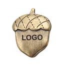 Custom Bronze Acorn Lapel Pin, 3/4