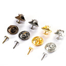 Opromo 50 Pairs Tie Tacks Blank Pins with Clutch Back,Butterfly Clutch Tie Tacks Pin Backs with Blank Pins