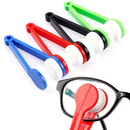Blank Mini Sun Glasses Eyeglass Cleaner Soft Brush Cleaning Tool, Cleaning Clip