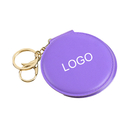 Custom Portable Round Makeup Mirror Cosmetic Mirror with Keychain, 3-1/5