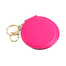 Blank Round Makeup Mirror Cosmetic Mirror with Keychain, 3-1/5