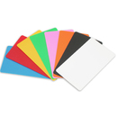 Blank Double Side Plastic Color Card