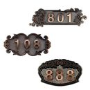 Personalize Home Hotel Office Number Sign, Address Plaque Sign, Room sign, Specify to 3 Digitals, Small Size