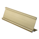 Blank Office Name Plate Holders, Fit for Size 2