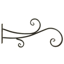 Blank Metal Hanging Sign Bracket, Wall Mounted Brackets for House Office, Two Style
