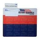 Custom Business Card Insert Frame Counter Mat with Non-Slip Rubber Base, 8 3/4