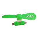 Custom USB Phone Fan, 2 in 1, T Shape
