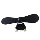 Blank Mini USB Phone Fan, Cavel Shape, 2 in 1
