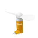 Custom Rotatable Mini USB Phone Fan, for Android or iPhone