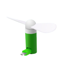 Blank Rotatable Mini USB Phone Fan, for Android or iPhone