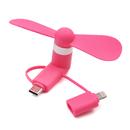Blank 3 in 1 High Grade USB Micro Phone Fan, Portable Personal Fan