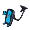 Officeship Windshield Long Arm Car Phone Mount with One Button Design and Anti-skid Base Car Holder for iPhone, Huawei and More