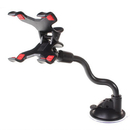 X Clamp Car Mount, [Update] 6 Inches Long Arm Universal Windshield Dashboard Cell Phone Holder with Strong Suction Cup