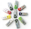 Customized Swivel 2GB USB Flash Drive