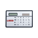 Customized Credit Card Size Solar Calculator