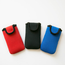 Blank Neoprene Cell Phone Pouch with Velcro Closure, 2 3/4