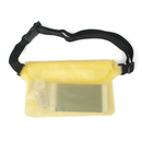 GOGO PVC Waterproof Pouch/Waist Pack with Adjustable Belt, 8 1/2