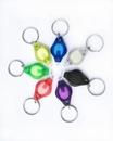 Blank Mini Colorful Flashlight with Keychain