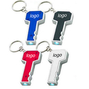 Custom Key Shape LED Flashlight Keychain