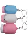 Blank Pig Shaped Flashlight With Key Holder